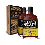 Rufus Teague: BBQ Sauce in Unique Gift Box - 16oz Bottles - Premium BBQ Sauce - Natural Ingredients - Award Winning Flavors - Thick & Rich Sauce - Gluten-Free, Kosher, & Non-GMO - 2pk