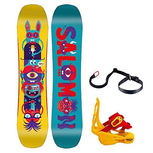 Salomon Team Snowboard w/Goodtime XS Bindings Kids Sz 90cm