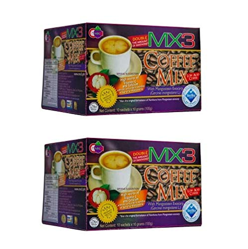 MX3 Mangosteen Coffee Mix (10 Sachets) PACK OF 2