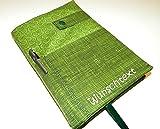Kalender 2021 mit Namen/Kalender mit Hülle / A5 / Buchkalender mit Kugelschreiber und Wunschtext