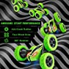 Remote Control Car, ORRENTE RC Cars Stunt Car Toy, 4WD 2.4Ghz Double Sided 360° Rotating RC Car with Headlights, Kids Xmas Toy Cars for Boys/Girls (Green) #2