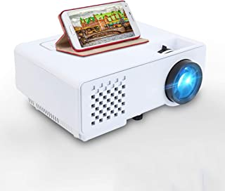 Mini Projector for Full HD 1080P, Wireless Synchronized Mobile Phone Display, LED Portable Home Theater Video Projector