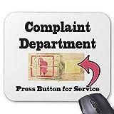 Complaints Department Mouse Pad 18×22 cm