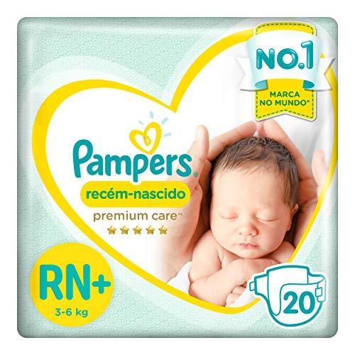 Fraldas Pampers Recém-Nascido Premium Care Rn+ 20 Unidades, Pampers