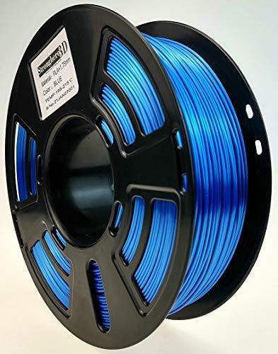 Stronghero3D Desktop FDM 3D Printer Filament PLA Blue 1.75 mm 1 kg (2.2 lbs) Dimension Accuracy of +/- 0.05 mm for Ender3 Cr10