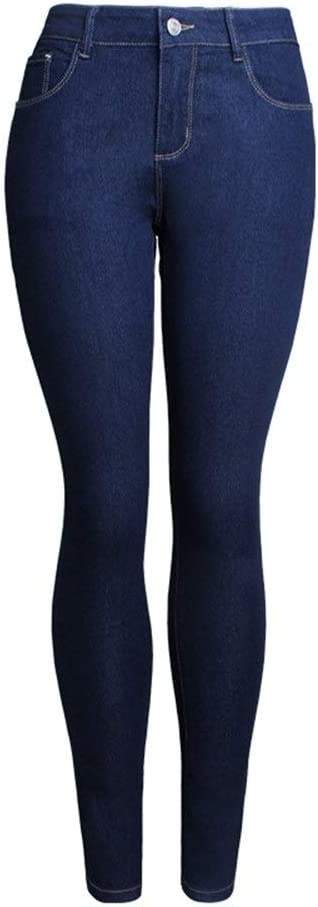 YonCog Autumn Jeans Women's 5 popular Trousers Feet mart Slimming Stretch Slim