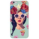 Icrafts India Trendy Multicolor Pholycrabonate Open Phone Covers for iPhone 7
