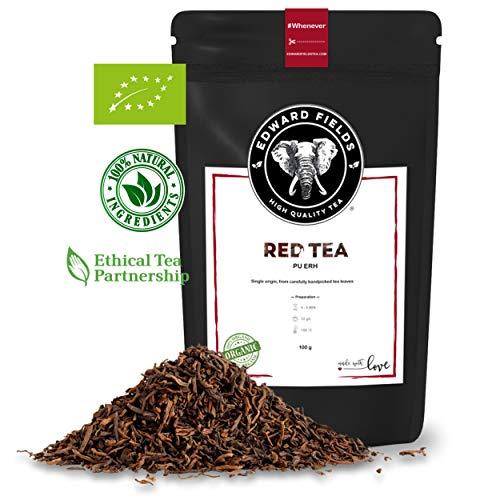 Edward Fields - Té Rojo Pu Erh Orgánico de alta calidad.