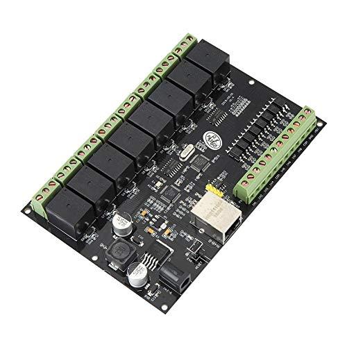 8-Wege 10A Netzwerk Relais Switch Controller Ethernet TCP/IP Relais Ein/Aus Ausgang