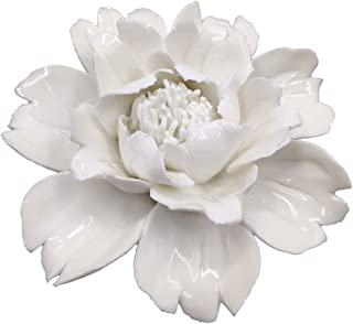 Best white ceramic wall flowers Reviews