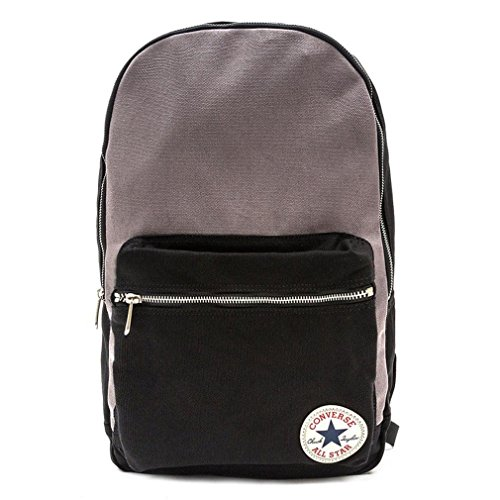 Converse Mochila Core Plus Canvas Backpack, color Varios colores - Converse Black / Converse Charcoal, tamaño 26 x 45.5 x 12.5 cm, 15 Liter, volumen liters 15.0