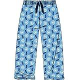 Fashion by Purdashian - Pantalones de pijama para hombre con forro polar cálido o algodón ligero.