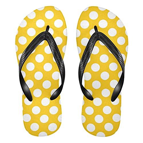 Linomo Chanclas para hombre y mujer, chanclas de dedo para verano, sandalias informales, sandalias para la playa, color Multicolor, talla 37/38 EU