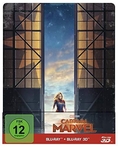 Captain Marvel: Blu-ray 3D + 2D / Steelbook