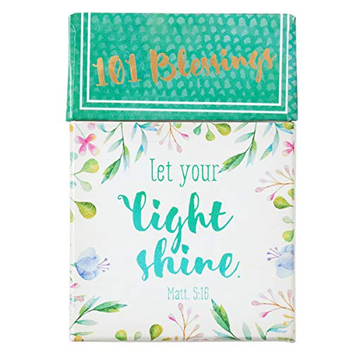 Let Your Light Shine Cards - A Box of Blessings, 101 Encouraging Messages