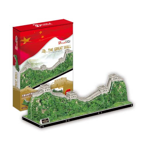 3D Puzzle The Great Wall Große Mauer China Cubic Fun Chinesische Mauer