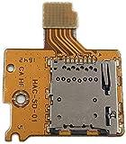 Compatible avec console Nintendo Switch NS NX. Contenu : 1 lecteur de cartes. Nintendo Switch TF SD Card slot Socket Démonter les accessoires d'origine.