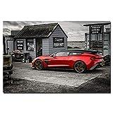 unknow Aston Martin Vanquish HD Auto Poster, Kunst der