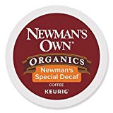 Newman's Own Organics Newman's Special Decaf Keurig Single-Serve K-Cup Pods, Medium Roast Coffee, 24 Count