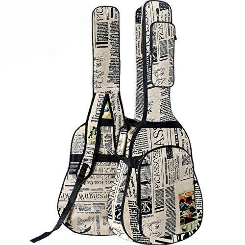 NgMik Bolso De Guitarra Acústica 40/41 Pulgadas Bolsa De...