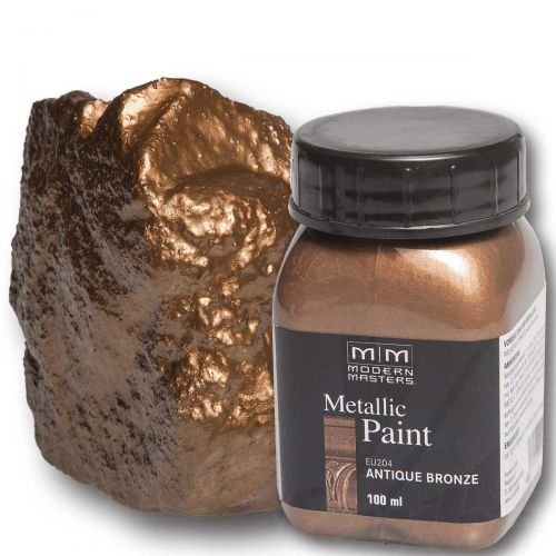 Antique Bronze Metallic Paint 100ml Modern Masters Metalleffektfarbe Metallfarbe
