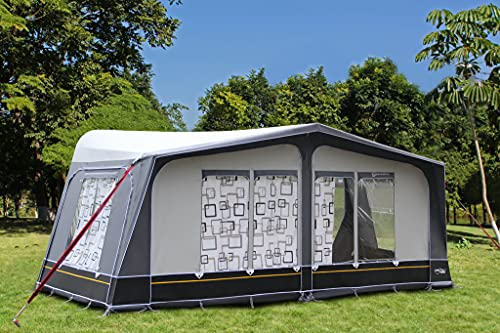 2019 Camptech Savanna DL All Season Full Caravan Awning (Seasonal Pitch) (Size 22 (1175-1200cm))