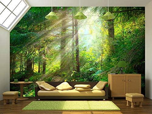 3d forest wallpaper _image0