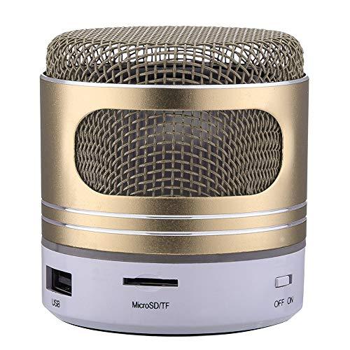 DIOI Bluetooth-luidspreker, mini-luidspreker, mini-bluetooth-luidspreker, USB-LED-licht, draadloze draagbare muziekbox, subwoofer klein, meerdere kleuren, met anti-slip onderkant