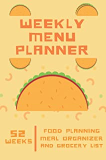 Weekly Menu Planner: Meal Organizer and Grocery List  6