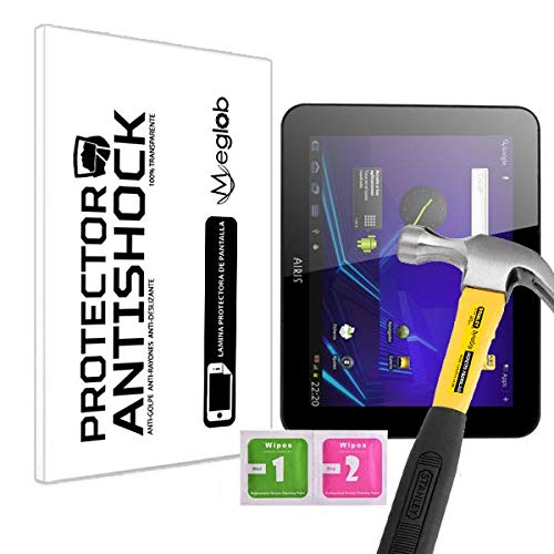 Protector de Pantalla Anti-Shock Anti-Golpe Anti-arañazos Compatible con Airis Tablet OnePAD 970 (TAB97C)