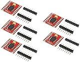 TECNOIOT 5pcs Dual Motor Driver 1A TB6612FNG Microcontroller