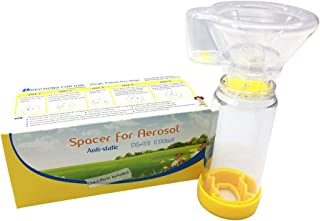Everydlife Spacer for Kids and Adults, Comes with Mask, Fit Any Size, Sealed Package,Clean and Safe (Kids)