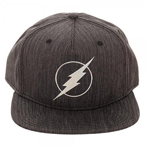 Bioworld DC Comics The Flash Iridescent Weld Woven Fabric Snapback Cap Hat 7d42f83c880a