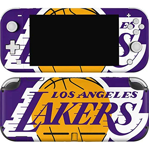 Skinit Decal Gaming Skin Compatible with Nintendo Switch Lite - Officially Licensed NBA Los Angeles Lakers Large Logo Design