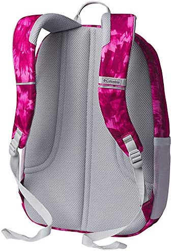 Haute Pink Quartz Print//grey Columbia Unisex Tamolitch II Daypack Laptop School Student Backpack
