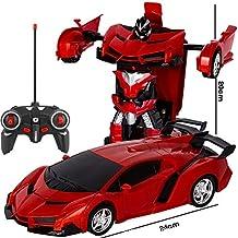 Amitasha Remote Control Robot Bugatti 2in1 Transform Car Toy For Kids