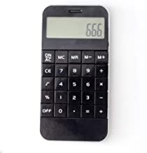 $32 » Calculator Desktop Science Calculator Portable Calculator Cute Mini Calculator Office Calculators (Color : Black)