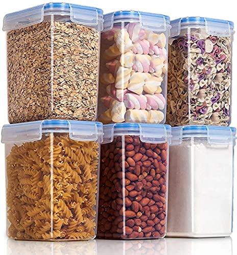 EMPORIUM Plastic Containers - 1500ml, 4 Pc, Transparent