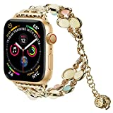 Light Compatible con Correa de Reloj Apple Watch Band 42mm/4