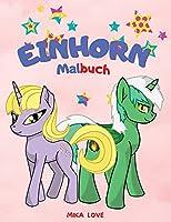 Einhorn-Malbuch: Fuer Kinder 2-4-6 Jahre, Malspass, Einhorn-Malbuch fuer Kinder.