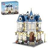 Mocdiy Tienda de ropa, bloques de construcción con iluminación LED, construcción modular de casa, arquitectura DIY, 2805 piezas, bloques de sujeción, compatible con casa Lego, Mould King 11005