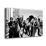 Public Enemy 1990 Leinwand-Kunst-Poster und