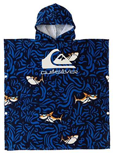 Quiksilver - Toalla de Playa - Niños 2-7 - One Size - Azul