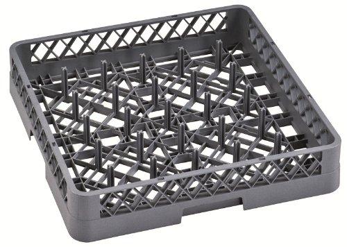 GetGastro Panier à assiettes pour lave-vaisselle avec 20 pics 50 x 50 x 10 cm
