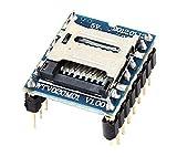 Dosige WTV020-SD Sprachmodul Unterstützung 32M ~ 1GBit Kapazität Karte für Arduino Raspberry Pi