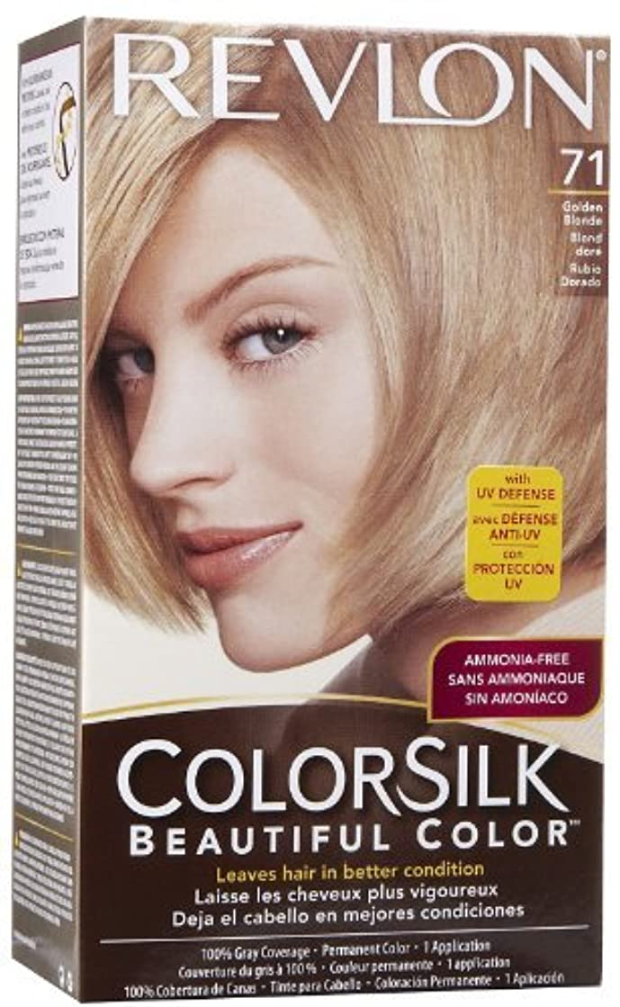 もの分注する収益海外直送品Revlon Colorsilk Natural Hair Color, 7G Golden Blonde each by Revlon