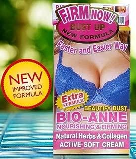 NEW FORMULA!! PUERARIA MIRIFICA HERBAL CREAM & SOAP BREAST SET BIO-ANNE BUST ENLARGE + COLLAGEN