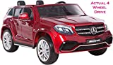 Mercedes 2 Plazas Licencia GLS 63 AMG SUV Real 4 WD con 4 Motores Independientes potentes Jeep...