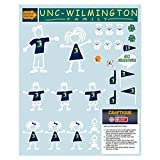 Craftique North Carolina-Wilmington Decal (UNCW Family Decal Color (8.5x11), 8.5x11 in)