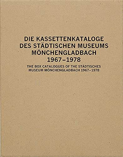 The Box Catalogues of the Staedtisches Museum Moenchengladbach: 1967-1978